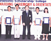 Panasonic Scholarship for Philippine Colleges and Universities