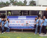 Cares...Shares...and Delivers to the Typhoon Victims