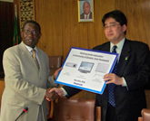 Panasonic Donates PDPs and Educational Equipment to the University of Zambia