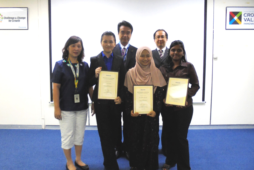 Ceremony at Panasonic Management Malaysia (PMAM)