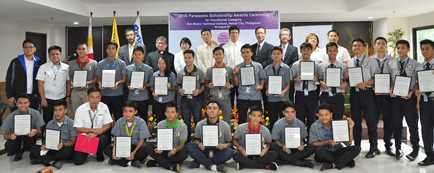 Ceremony at Panasonic Manufacturing Philippines (PMPC)