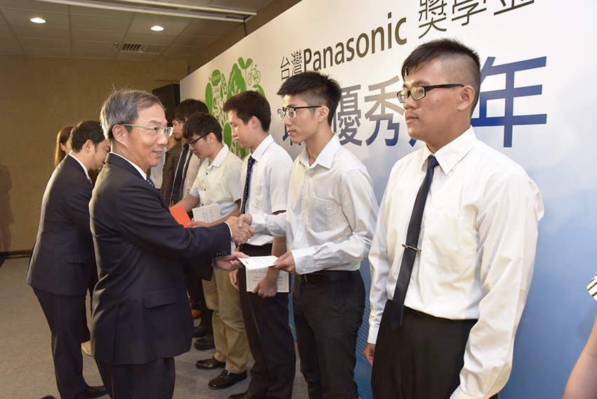 Ceremony at Panasonic Taiwan (PTW)
