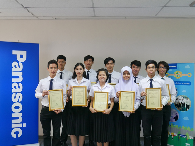 Ceremony at Panasonic Management Thailand (PMT)