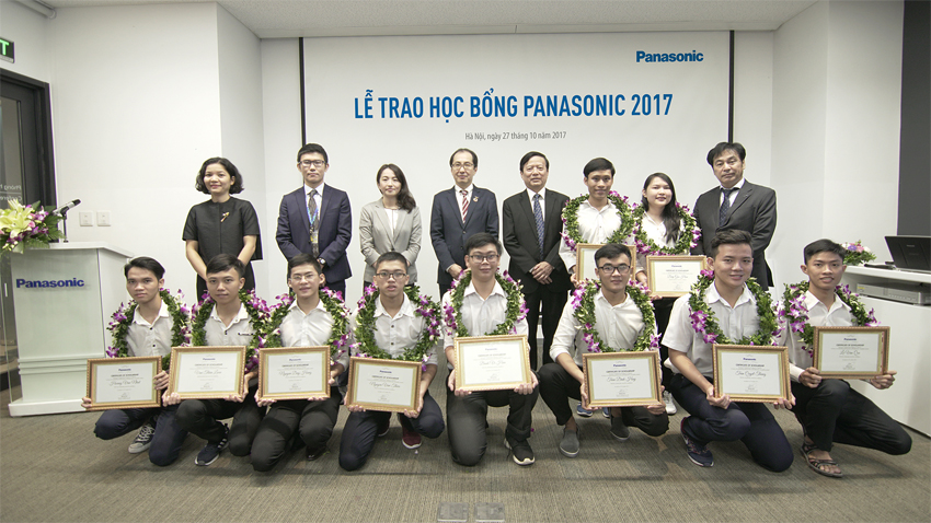 Ceremony at Panasonic Vietnam (PV)