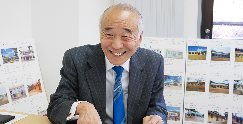 Hiroshi Tanikawa, Chairman of the certified NPO Asian Education and Friendship Association (AEFA)