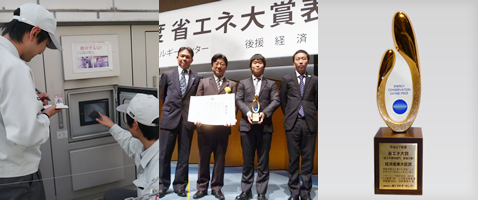 No.6 Panasonic Wins the Minister's Prize for its Investment-free Energy-saving Method