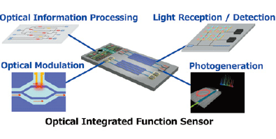 Image of Optical integrated function sensor