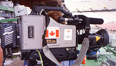 Photo: D-3 digital camera recorder used at the Olympic Games Barcelona 1992