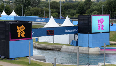Behind the Scenes at the London Olympic Games