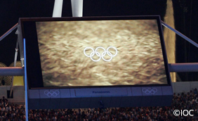 Athens 2004 Large-Screen Display System