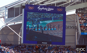 Sydney 2000 Large-Screen Display System