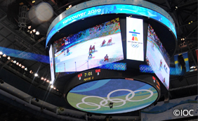 Vancouver 2010 Large-Screen Display System