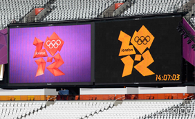 London 2012 Large-Screen Display System