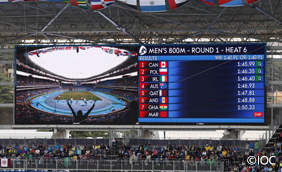 Rio 2016 Large-Screen Display System