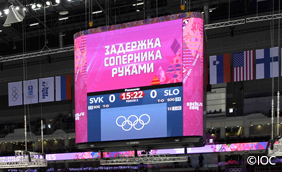 Sochi 2014 Large-Screen Display System