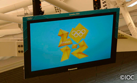 2012 London 103-inch Plasma Display
