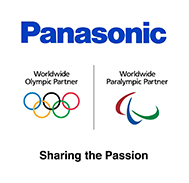 Panasonic Worldwide Olympic Partner Logo and Worldwide Paralympic Partner Logo  Sharing the Passion
