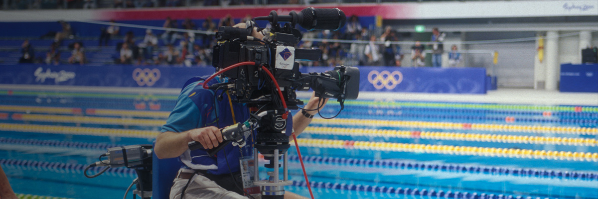 Behind the Scenes at the Olympic Games