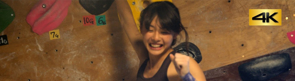 Iwate Sport Climbing clip :Sport climbing training scenes filmed 4K at the bouldering gym in Morioka City.
