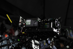 Photo: HD camera recorder installed at a competition venue