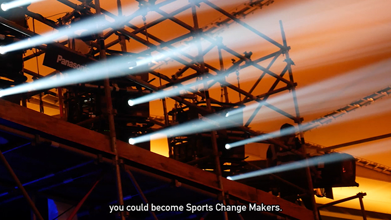 you could become Sports Change Makers.