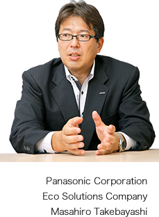 Panasonic Corporation Eco Solutions Company Masahiro Takebayashi