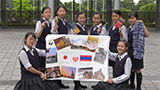 Sharing The Dream 2020 東京都かえつ有明高等学校/作品名「Thailand and Japan are best friends ♡」
