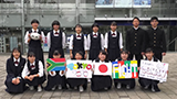 Sharing The Dream 2020 福岡県立城南高等学校/作品名「Yell for ''South Africa'' !! ?」
