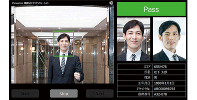 Photo : Image of face recognition