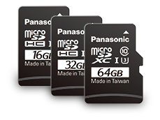 Photo of microSD Card RP-SMGB Series