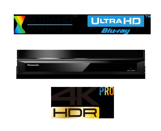 Panasonic DMP-UB400GNK Blu-ray and DVD Players - Panasonic