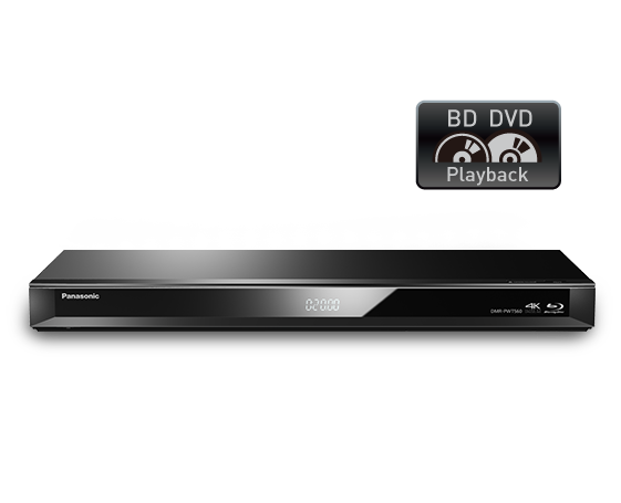 DVD Player and HDD Recorder with Twin HD Tuner DMR-PWT560GN