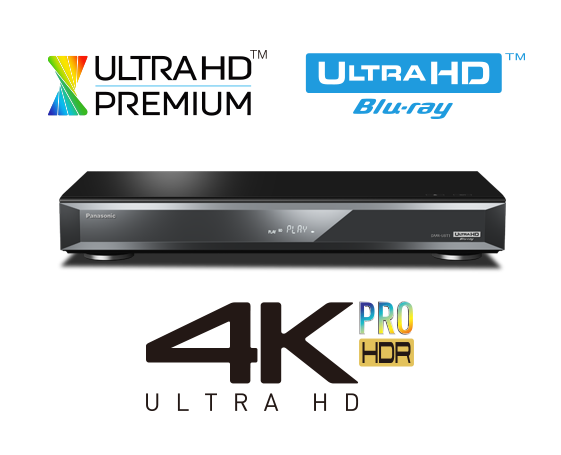 Blu Ray DVD Disc Recorder And 4K UHD Player With