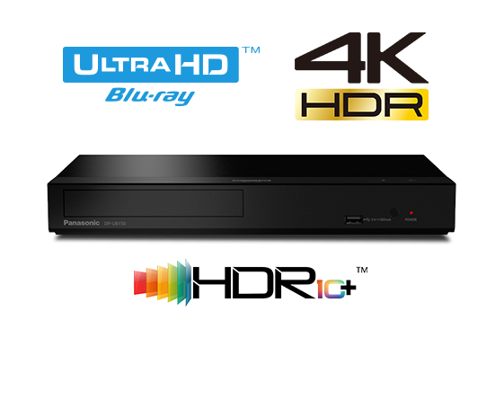 4K Ultra HD HDR Blu-ray Player DP-UB150