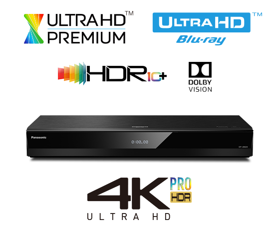 Ultra HD Blu-ray Player DP-UB820