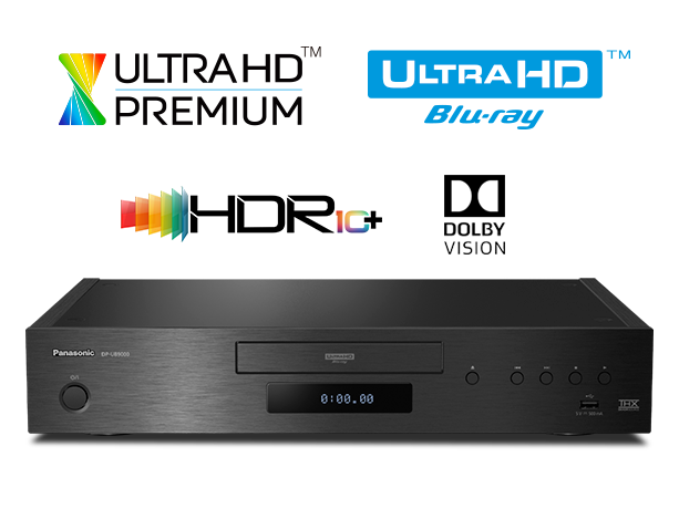 Photo of 4K UHD Blu-ray Player with HDR10+ and Dolby Vison DP-UB9000 - EISA Award Winner