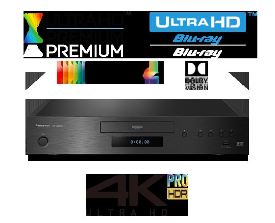 4K UHD Blu-ray Player with HDR10+ and Dolby Vison DP-UB9000 - EISA Award Winner