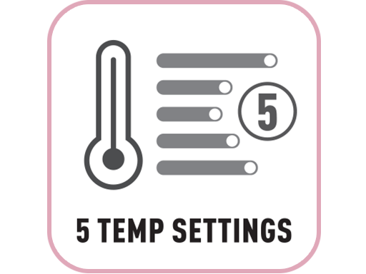 5 Temp Settings