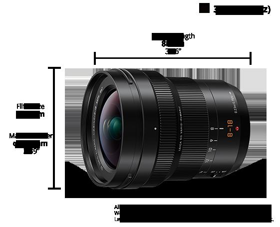 LEICA DG Lens H-E08018E
