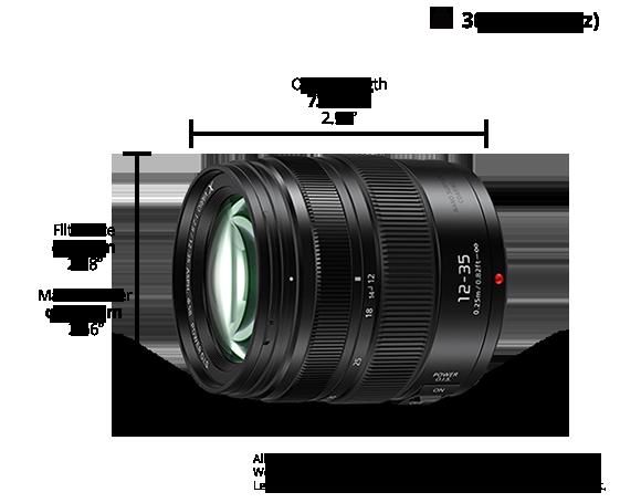 LUMIX G Lens H-HSA12035E