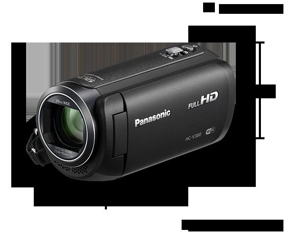HC-V380 Video Cameras - Panasonic Australia