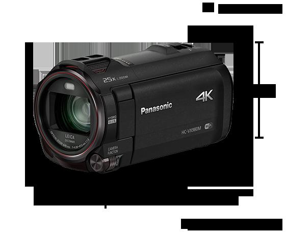 4K Ultra HD Camcorder HC-VX980M