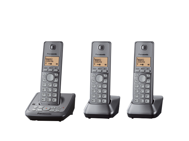 Photo of Cordless Phones - Everyday Living: KX-TG2723ALM