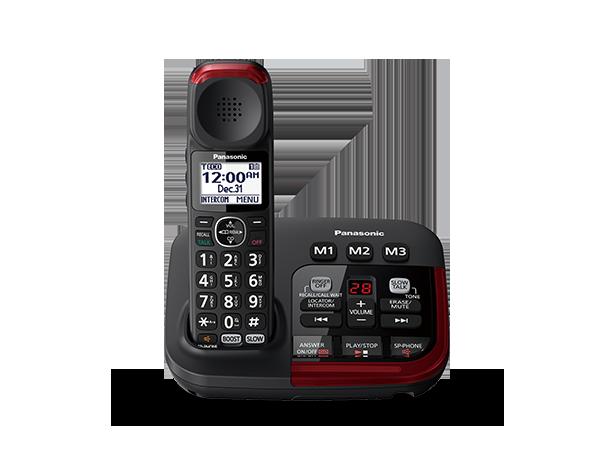 panasonic kx tgm420azb phone with answering machine cordless phones rh panasonic com