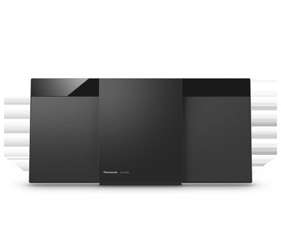 Slim Stylish Compact Micro System SC-HC302GN-K