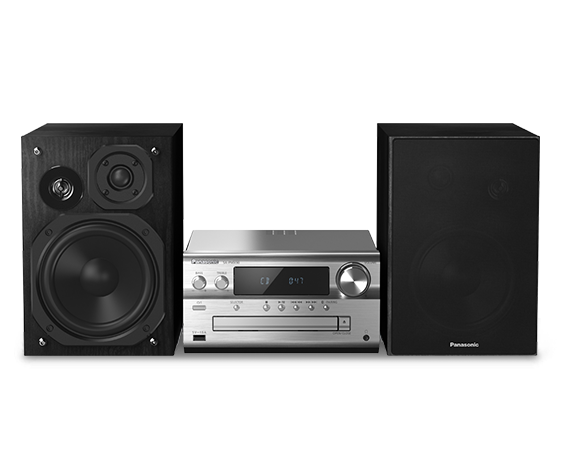 High-Resolution Bluetooth DAB+ Radio CD Micro Hi-Fi SC-PMX92