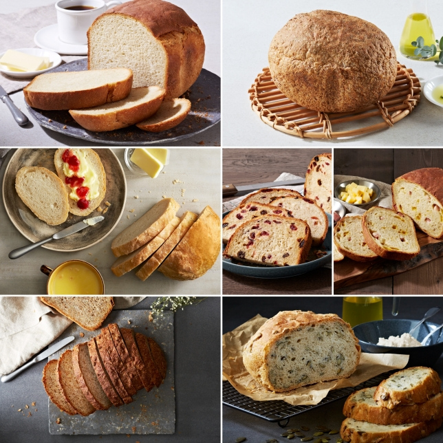 Versatile Crusty Loaf Options