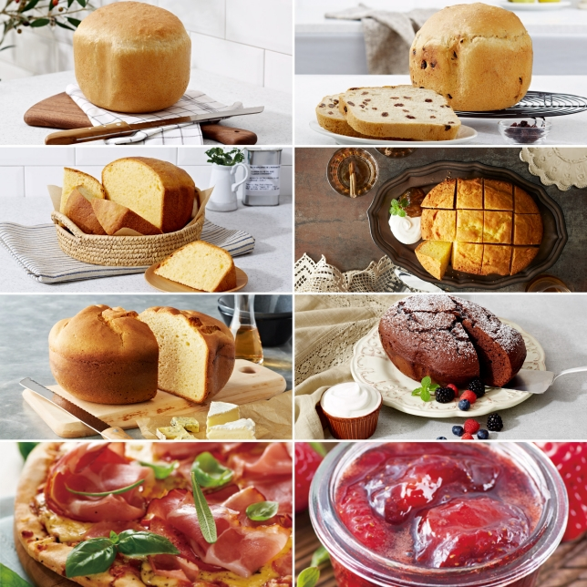 Bread, Cake, Gluten-Free, Dough & Jam