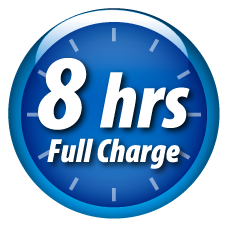 8hrs Full Charge