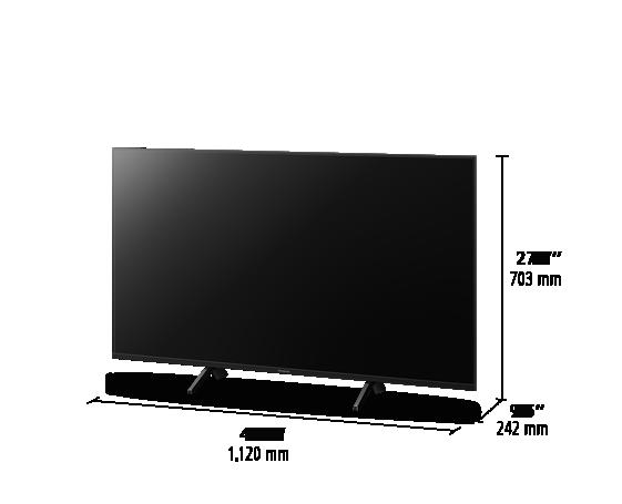 4K ULTRA HD TV TC-50GX700